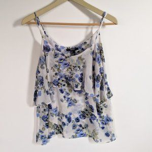 Forever 21 Tops - Forever 21 Floral Tank Top Blouse